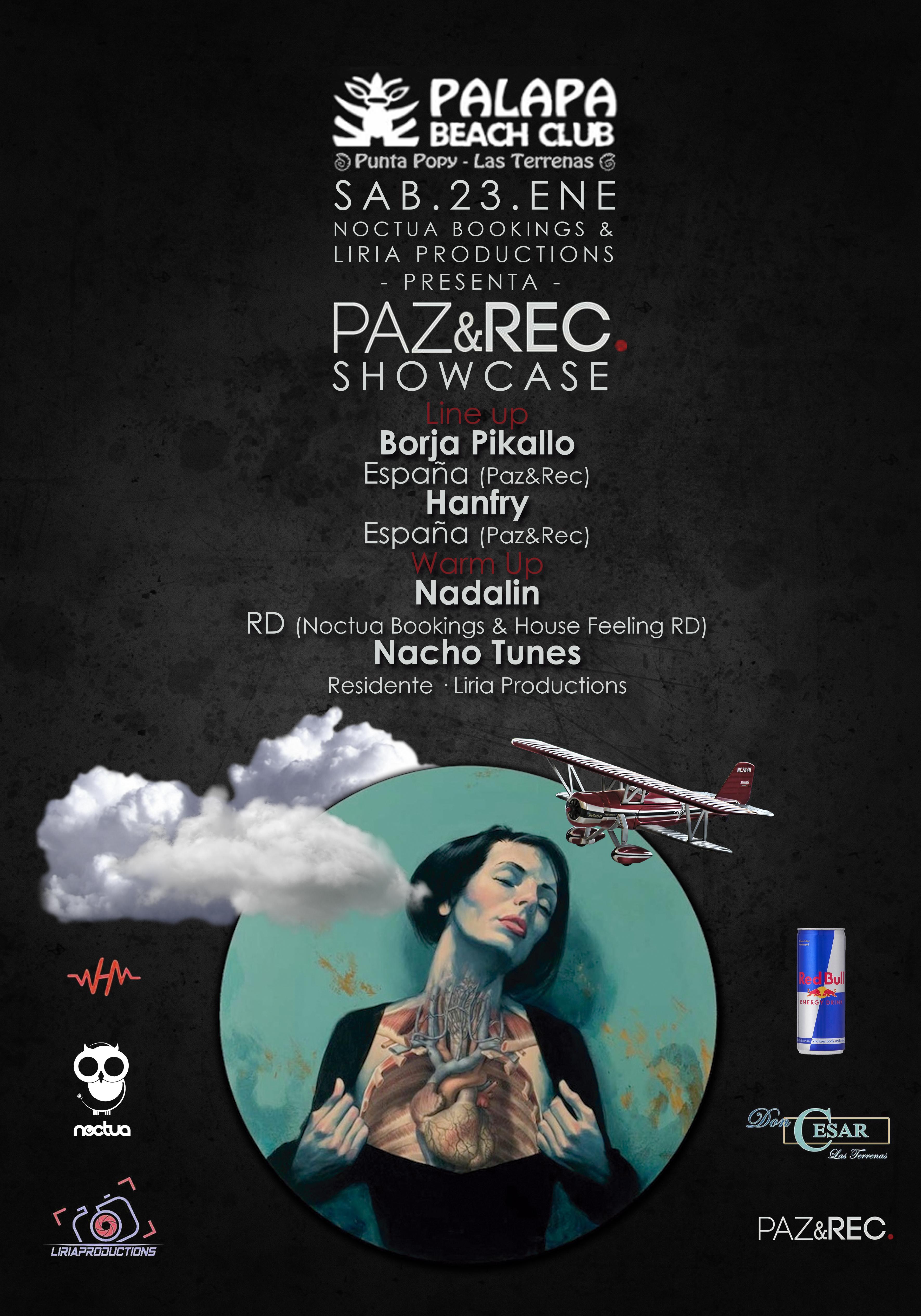 Paz&Rec Showcase República Dominicana